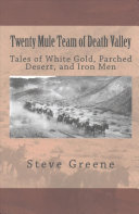 Twenty Mule Team of Death Valley