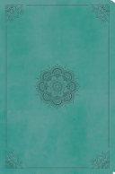 ESV Value Compact Bible  Trutone  Turquoise  Emblem Design  Book