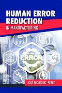Human Error Reduction in Manufacturing [Pdf/ePub] eBook