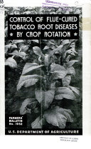 Control of flue-cured tobacco root diseases by crop rotation