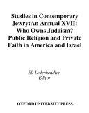 Studies in Contemporary Jewry [Pdf/ePub] eBook