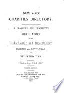 The New York Charities Directory