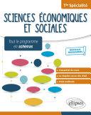 Pdf Spécialité Sciences économiques et sociales - Terminale - Nouveaux programmes Telecharger