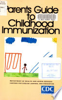 Parents Guide To Childhood Immunization
