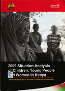 2009 Situation Analysis of Children  Young People and Women in Kenya