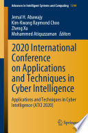 2020 International Conference On Applications And Techniques In Cyber Intelligence Book PDF