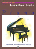 Alfred's Basic Piano Library - Lesson Book 6