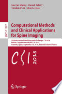 Computational Methods and Clinical Applications for Spine Imaging Book