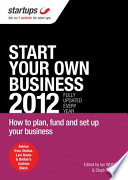 Start Your Own Business 2012 Book