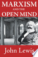 Marxism And The Open Mind PDF