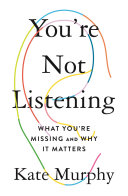 You're Not Listening Pdf/ePub eBook