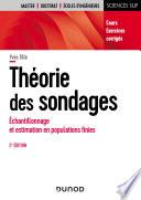 Théorie des sondages - 2e éd.
