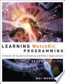 Learning WatchKit Programming