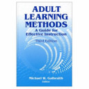 Adult Learning Methods