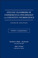 Stevens' Handbook of Experimental Psychology and Cognitive Neuroscience, Learning and Memory
