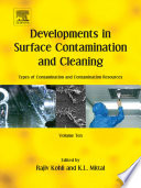 Developments in Surface Contamination and Cleaning: Types of Contamination and Contamination Resources