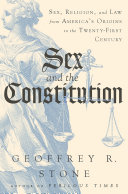 Sex and the Constitution: Sex, Religion, and Law from America's Origins to the Twenty-First Century Pdf/ePub eBook