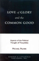 Love of Glory and the Common Good