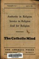 The Catholic Mind