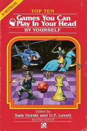 Top 10 Games You Can Play In Your Head By Yourself Second Edition