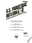 U S  Industrial Outlook for     Industries with Projections for     Book