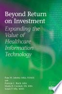 Beyond Return On Investment