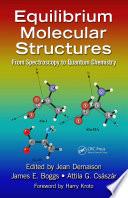 Equilibrium Molecular Structures