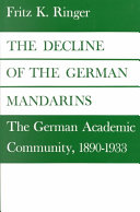 Pdf The Decline of the German Mandarins