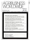 Agribusiness Worldwide Book