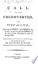 A Call to the Unconverted, to Turn and Live ...
