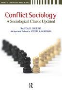 Conflict Sociology Pdf/ePub eBook