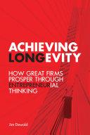 Achieving Longevity Pdf/ePub eBook