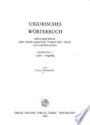Uigurisches Wörterbuch: ayatil- -ämgäklig