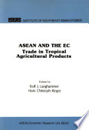Asean And The Ec Book PDF
