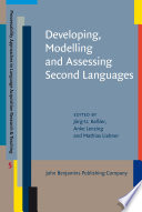 Developing Modelling And Assessing Second Languages PDF