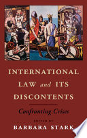 International Law and its Discontents Book