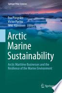 Arctic Marine Sustainability Book PDF