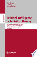 Artificial Intelligence In Radiation Therapy Book PDF