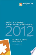 Health and Safety  Premises and Environment Handbook 2012 Book