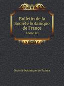 Bulletin de la Socie?te? botanique de France