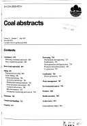 Coal Abstracts Book