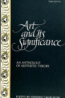Art and Its Significance
