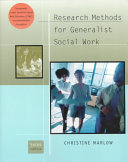 Research Methods for Generalist Social Work