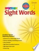 Sight Words, Grade 1