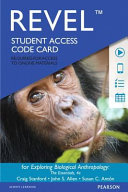Revel For Exploring Biological Anthropology The Essentials Access Card Book PDF