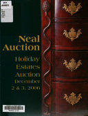 Holiday Estates Auction  December 2   3  2006