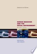 Human Behavior and the Social Environment  Micro Level