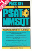 Barron s Pass Key to the PSAT NMSQT Book
