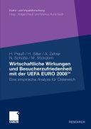 Wirtschaftliche Wirkungen und Besucherzufriedenheit mit der UEFA ...