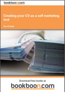 Creating your CV as a self marketing tool